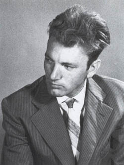 Giovanissimo scapigliato Thomas Bernhard