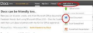 Berbagi dokumen via Docs.com