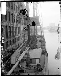 Uptown Chicago History Christmas Tree Ships 1915