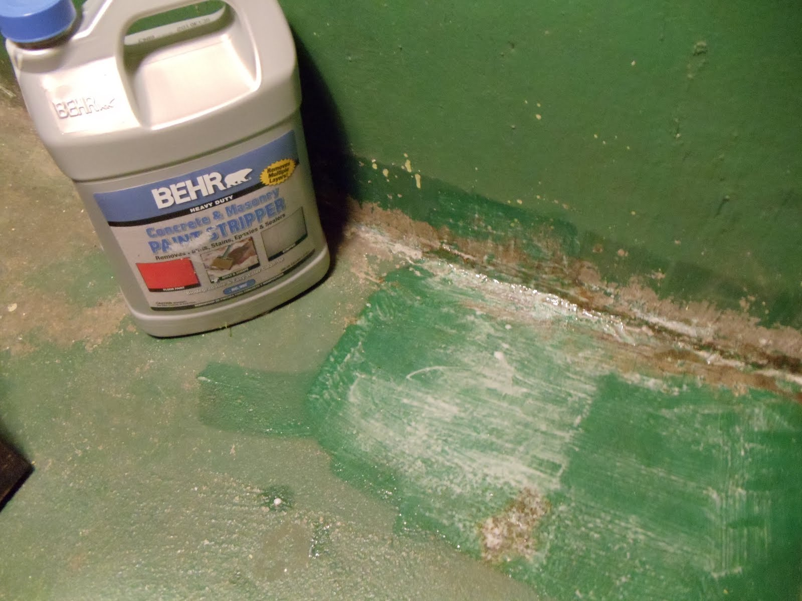 Sorry, Behr concrete stripper something is