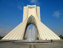 Azadi monument, Tehran, Iran