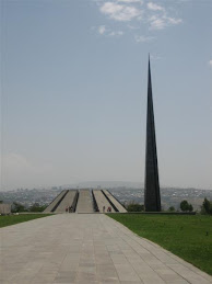 Genocide memorial, Armenia
