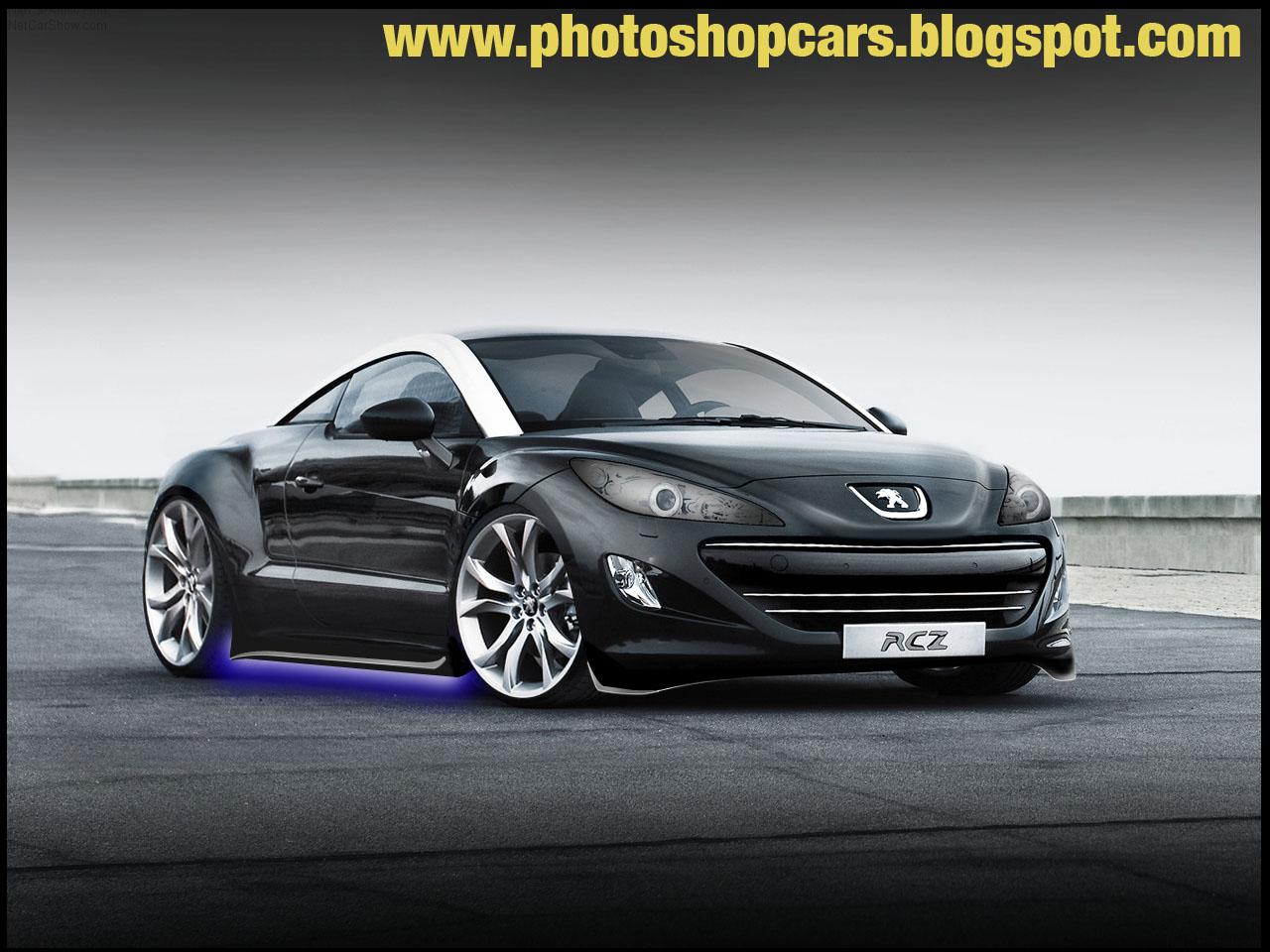 Nessa montagem do futuro esportivo compacto da Peugeot deixei o modelo um ...