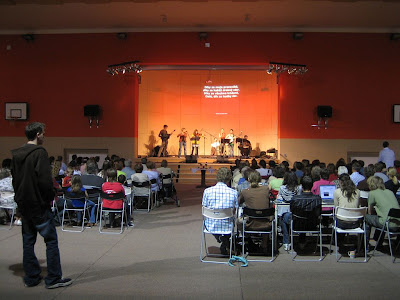Nedělní bohoslužba ve sboru Elim Písek, 25. 5. 2008