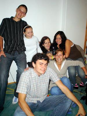 Kuba, Zuzka, Lenka, Evička, Leah a Jozef went together to USA.