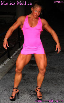 Monica Mollica - Super Legs Woman