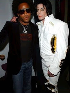 """Michael Jackson and Lenny Kravitz make """"Another Day"""""""