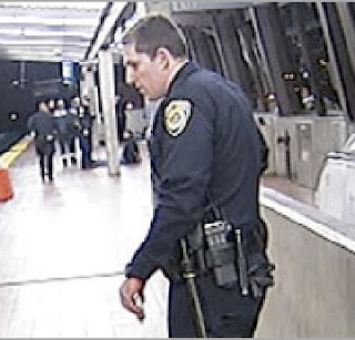 BART OFFICER JOHANNES MEHSERLE ARRESTED TONIGHT