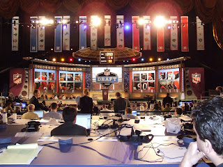 NFL Draft: Day Two Rounds 3 Through 7 At Radio City