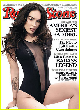 Megan Fox in Rolling Stone:  Sexy. Confused. Angry.