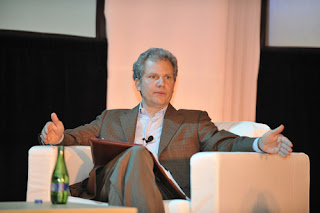 NY Times publisher Arthur Sulzberger Jr.; print media is like Titanic