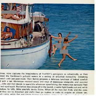 JFK photo a fake - real Playboy 1967 no-JFK photo here