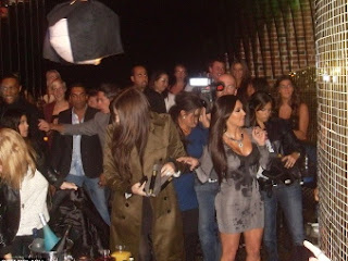 Kim Kardashian (@KimKardashian) OK After Bar Fight, Herve Leger Dress Stars