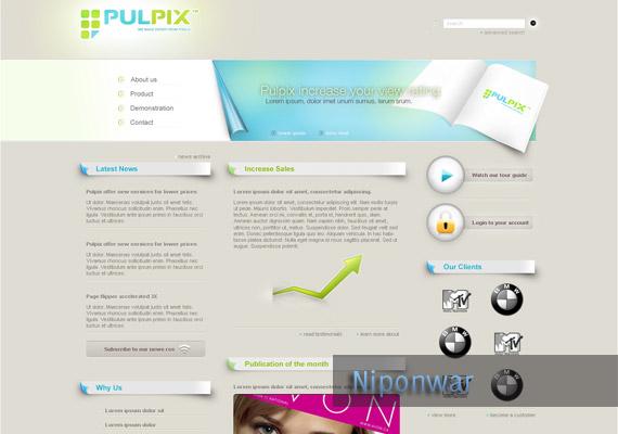 creative website design templates
