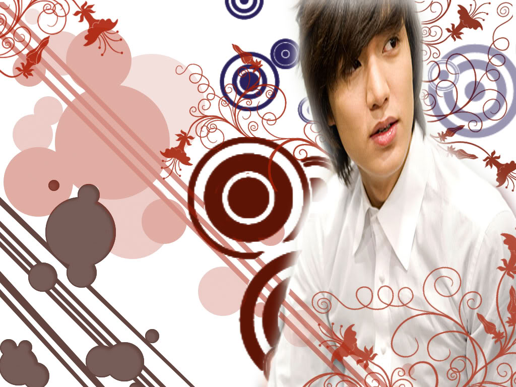 Here for u all...Lee Min Ho cute2 wallpaper.