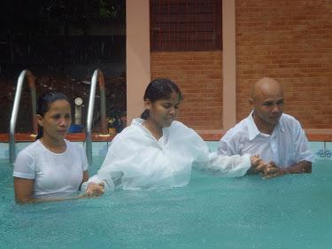 """""""Porque todos quantos fostes batizados em Cristo já vos revestistes de Cristo.""""  (Gálatas 3 : 27)"""