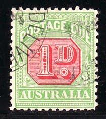 #26 australia postage due 800 euro