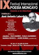 Vídeos del IX Festival Internacional de Poesía Moncayo