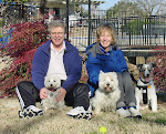 Mike, Kathie and the Dogs