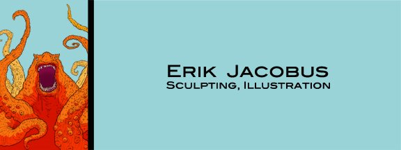 Erik Jacobus Sculpting, Illustration