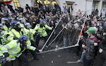 LONDON: STUDENTS RIOT AGAINST STUDENT FEES RISE, 10/12