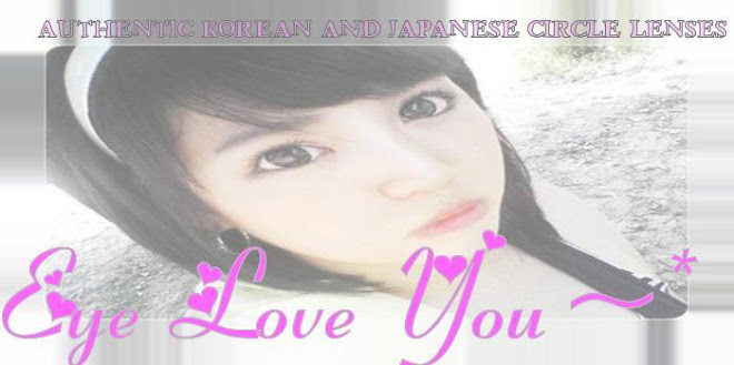 EyeLoveU~ Authentic Korean + Japanese Circle Lens
