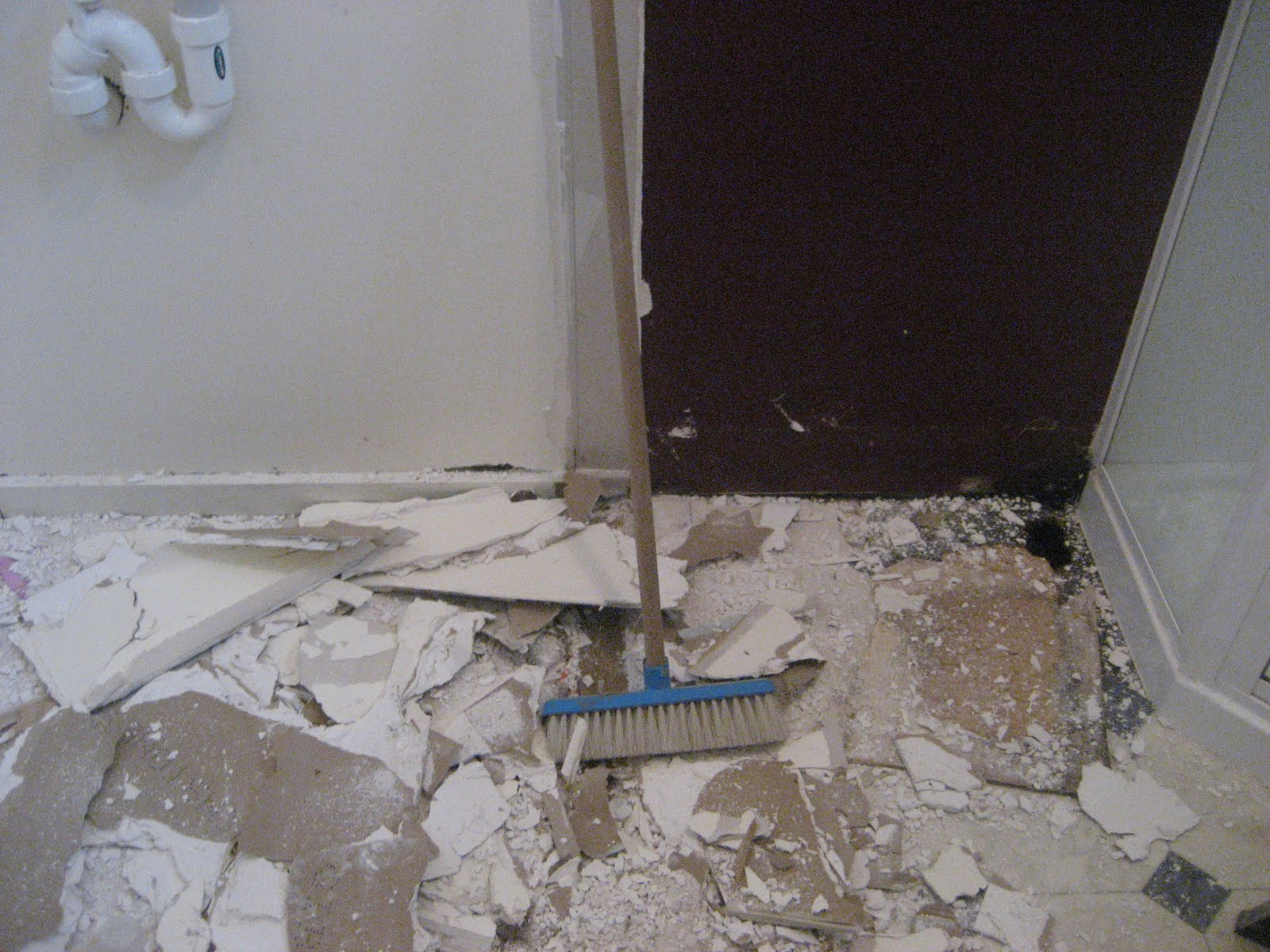 Bathroom Floor Repair Water Damage