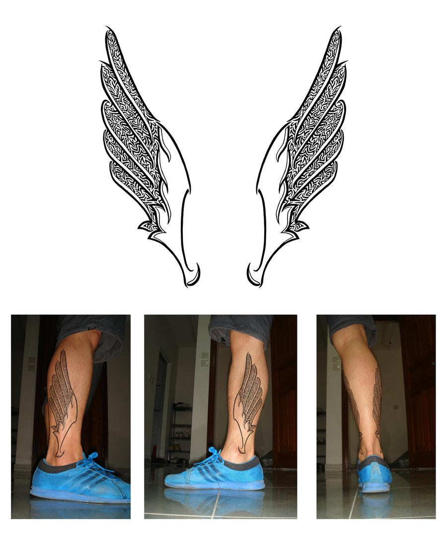 Татуировка крылья значение тату эскизы фото  - значение татуировки крылья