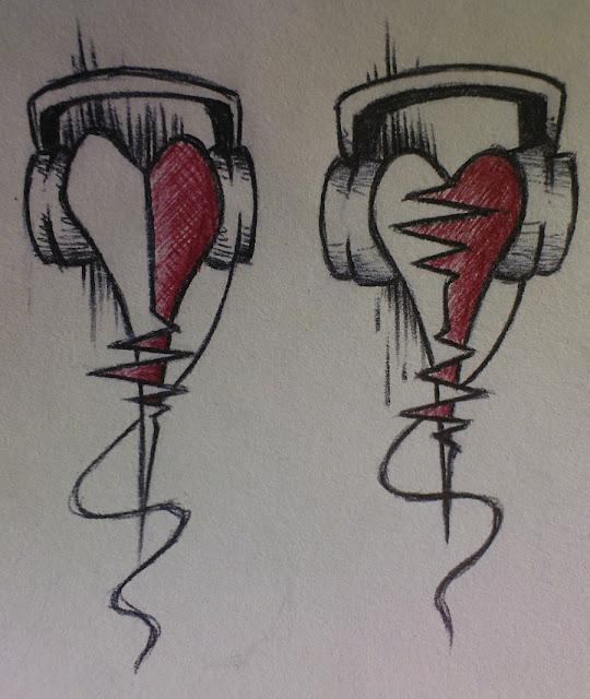 Татуировка для тех кто всегда в ритме