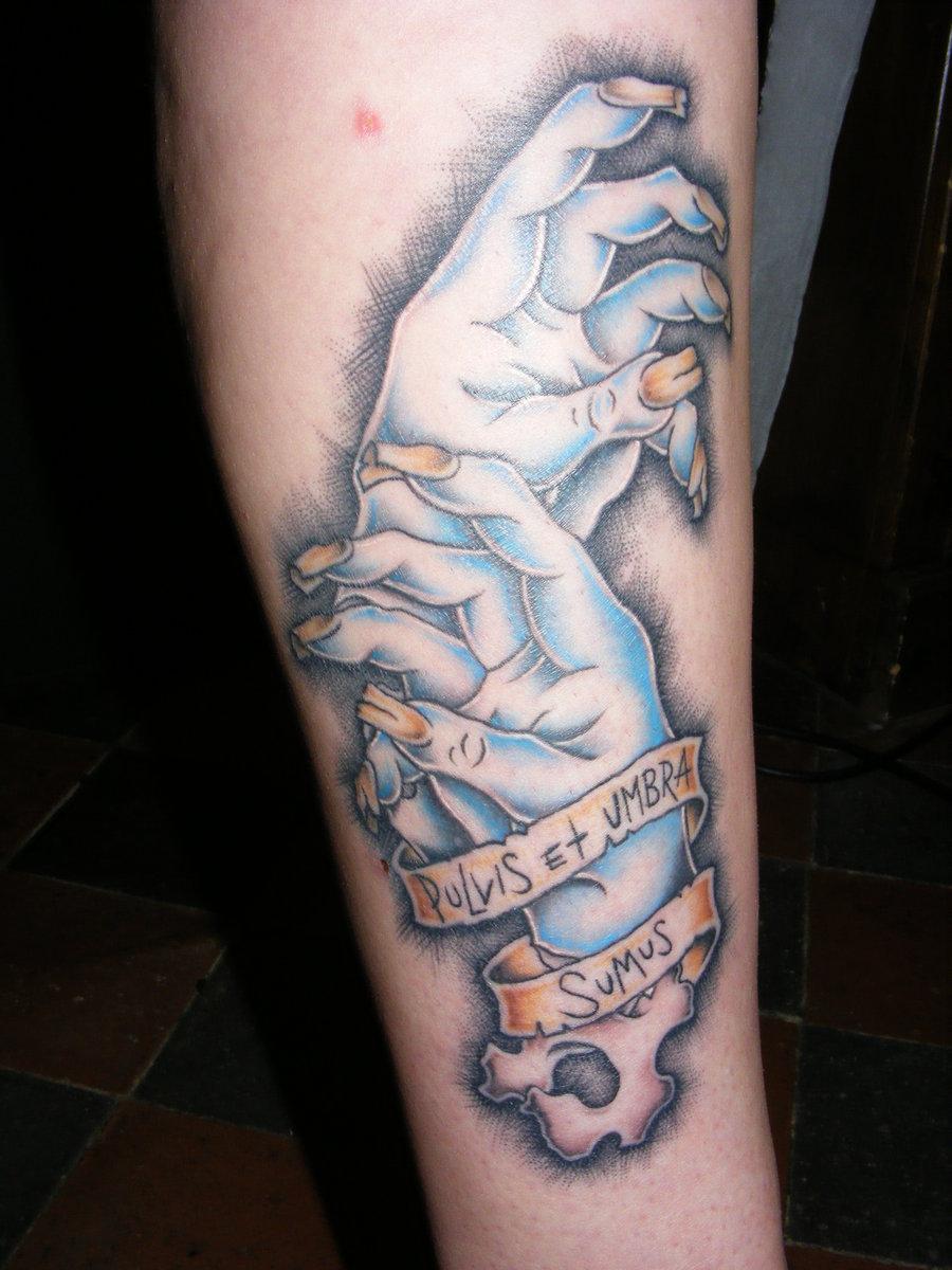 Хорошо выполненая татуировка класно