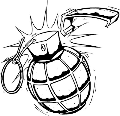 Grenade Tattoo Drawings