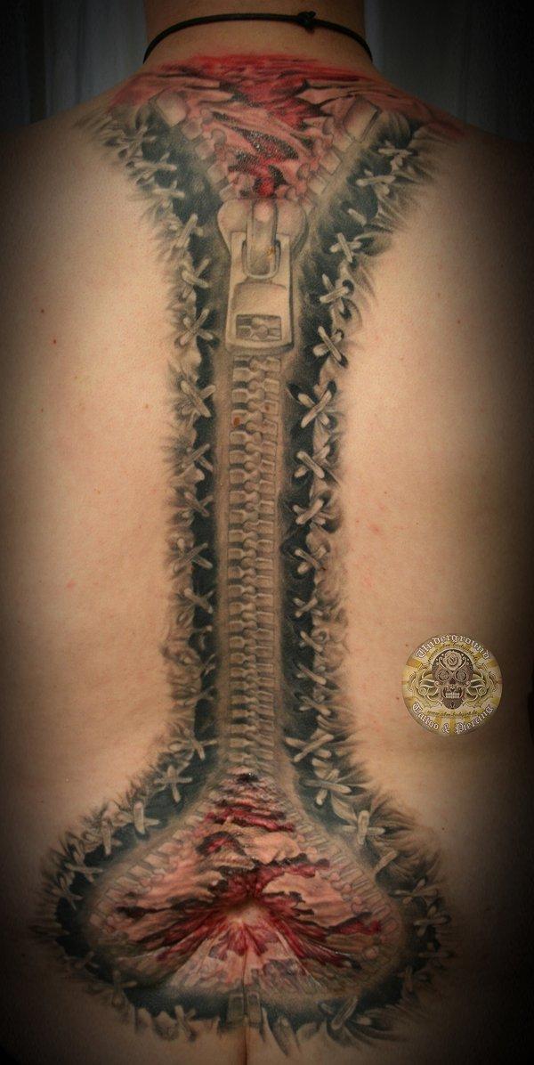 Метки тату на спине татуировки фото
