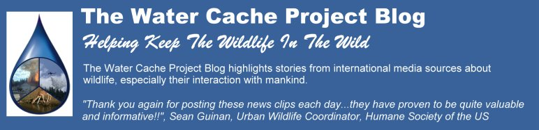 The Water Cache Project Blog