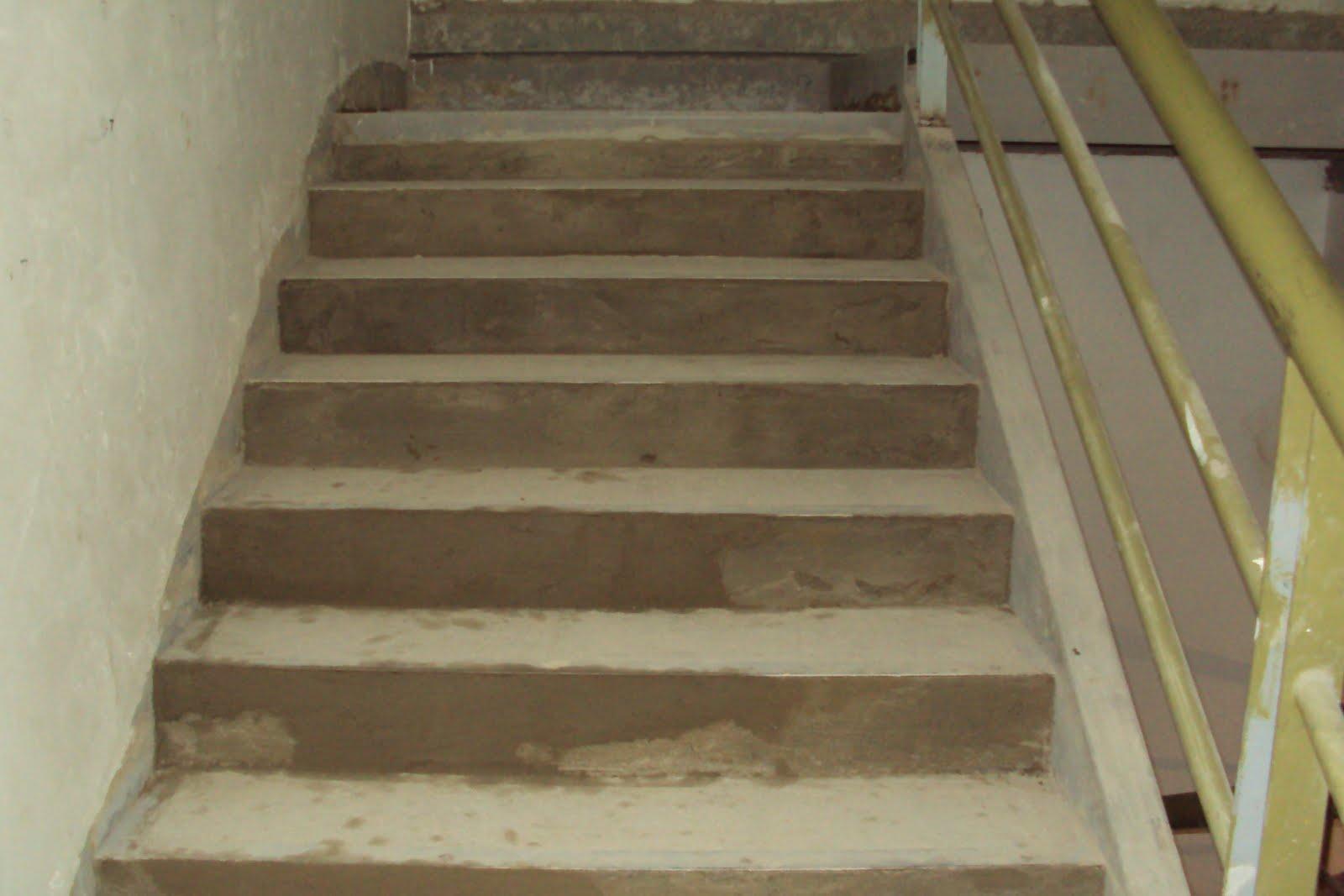 Concreto en escalera piso 1 y 2 pre lobby 25 06 2010 for Escalones de cemento para escaleras