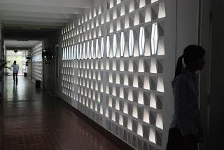 Bâtiment D, Institut des Langues Etrangères, Vann Molyvann - Phnom Penh