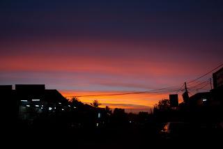 Banlung - Sunset