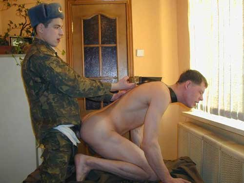 Русское порно зашла военком