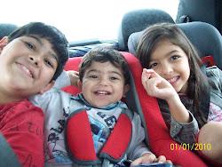 Filhos de Charles e Ligian
