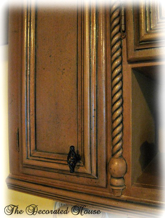 The Decorated House Black Glazed Finish For Painted Furniture Cabinets