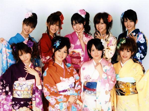 Kimono Jepang Yang Anggun