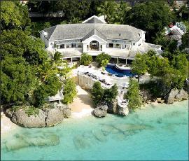 exklusive immobilien in der karibik luxus strandvilla auf