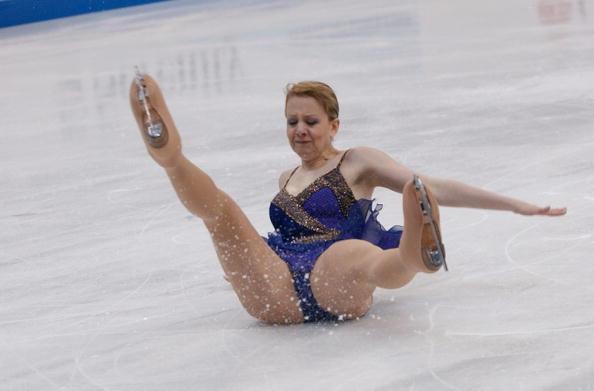 Figure skating sports oops
