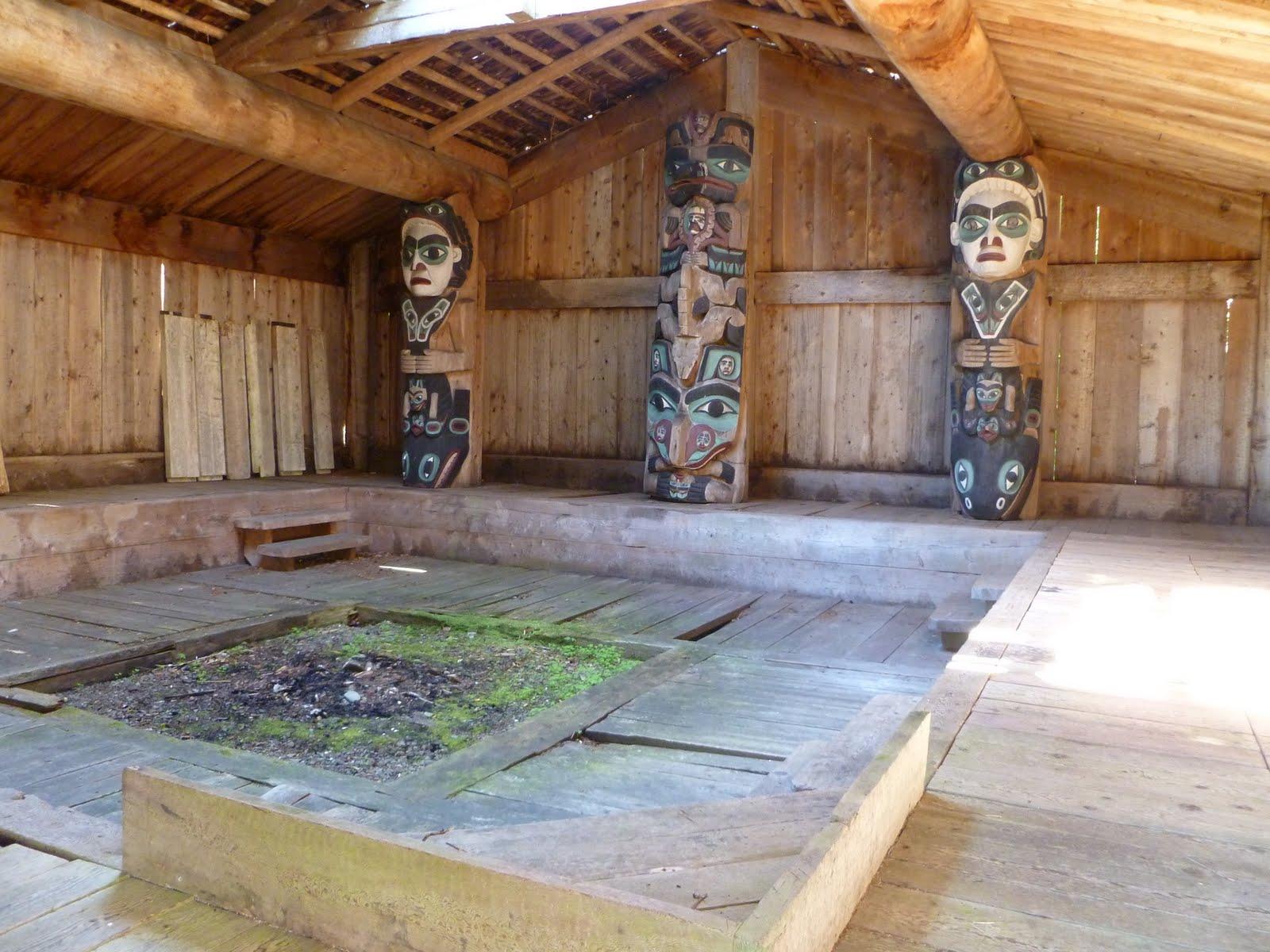 how to build a haida longhouse