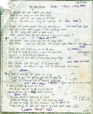 La letra original de 'The *Eaton Rifles'