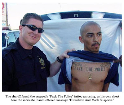 funny police pictures. 10/27/2008 | bizarre, funny