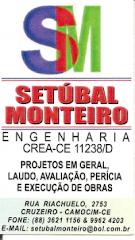 Setúbal Engenharia - Fones: (88) 3621-1156 e 9962-4203