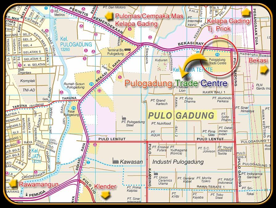 Peta ke PTC