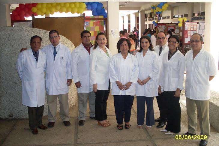 Dres. Departamento de Cirugia, Facultan Odontología UNAN LEON