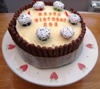 Mrs Wonka Her Crafting Factory Birthday Cake Yankee Candle