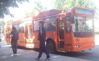Троллейбус с аккумулятором